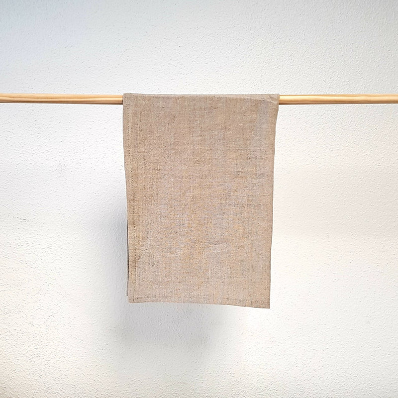 Linen Tea Towel | Natural | Made in NZ