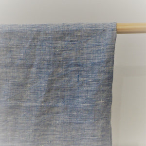 Linen Tea Towel | Melange Blue