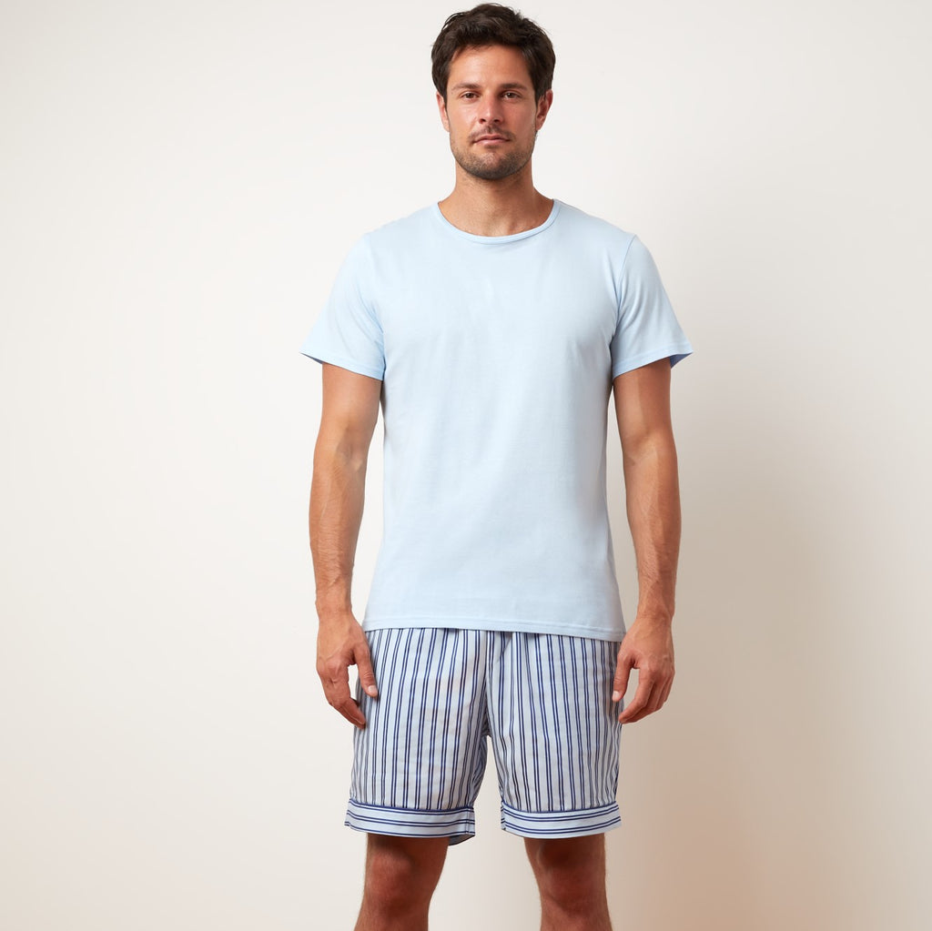 Jersey T-Shirt | Powder Blue
