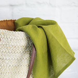 Linen Tea Towel | Moss