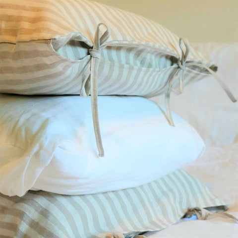 Linen Pillowcases | Dove Grey | Made in Europe