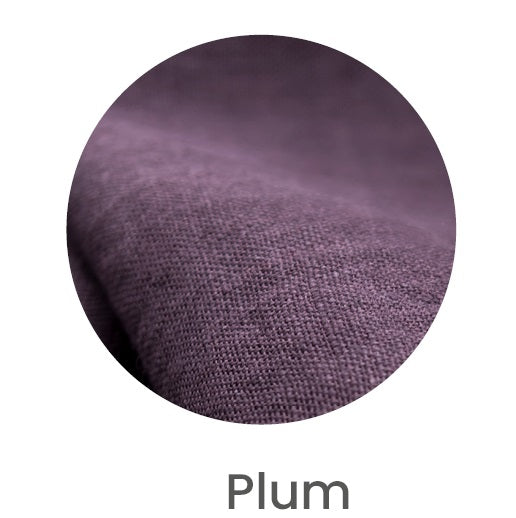 Linen Face Mask | Plum