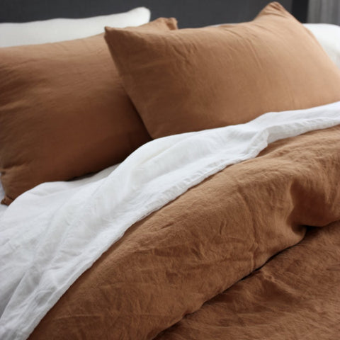 PURE EGYPTIAN COTTON: Lodge Pillowcases | Made in New Zealand