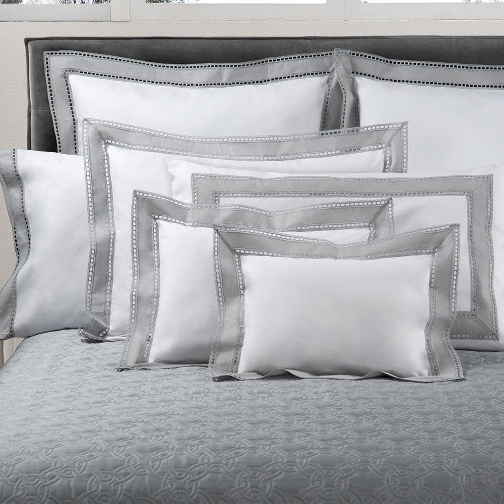 Binario Lace Pillowcases | Made in Italy