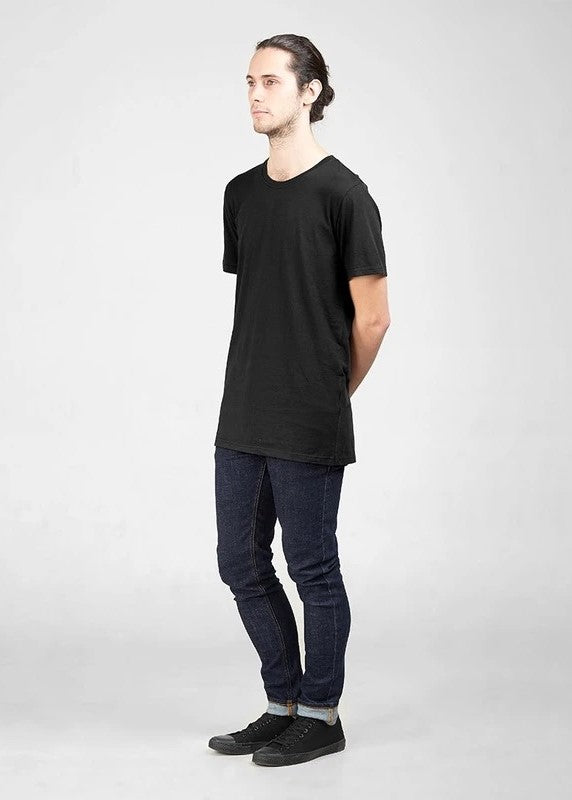 Tall Cotton Crew | Black