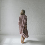 Oversized Linen Dress | Dusky Pink