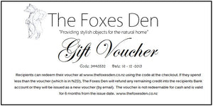 Gift Card - The Foxes Den