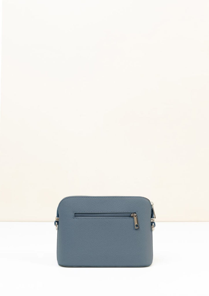 Leather Crossbody Bag | Victoria | Dusky Blue