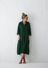 Oversized Linen Dress | Green