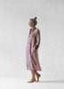 Linen shirt dress | Dusky Pink