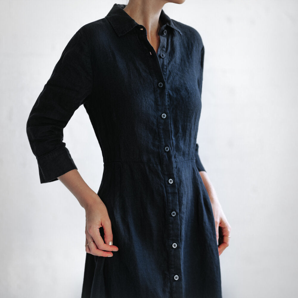 Tailored Dress | Navy