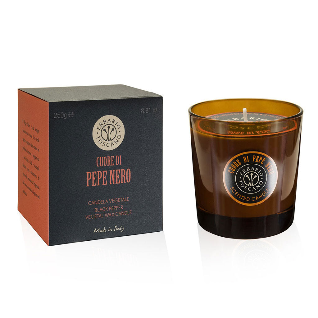 Pepe Nero | Luxury Candle | Product of Italy