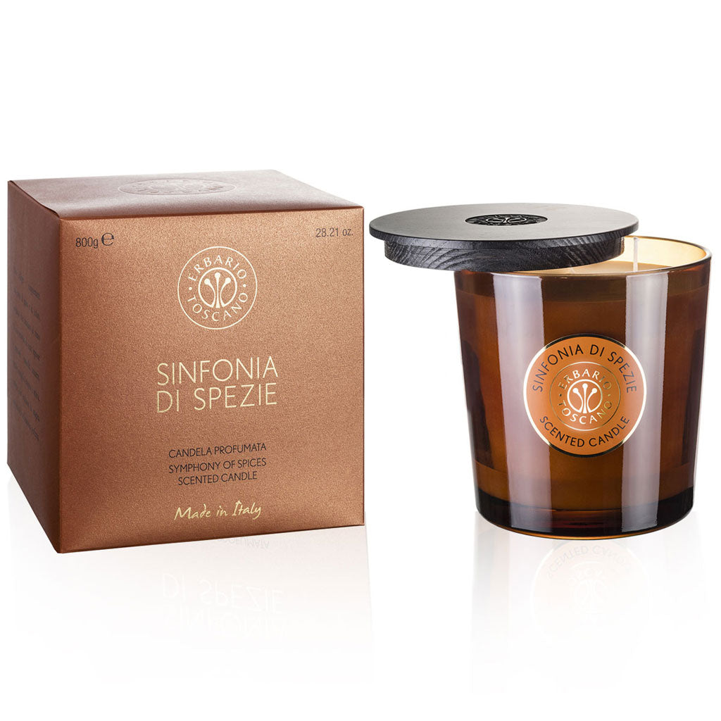Sinfonia di Spezie | Luxury Candle | Product of Italy