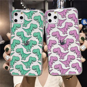 Cute Baby Dinosaur For iPhone