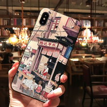 Load image into Gallery viewer, Japanese City Scenes Phone Cases for iPhone