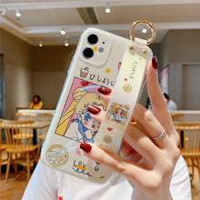 Load image into Gallery viewer, Super Cute Sailor Moon  case for iPhone