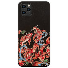 Load image into Gallery viewer, Animal Embossed Japanese Style Soft Cover For iPhones