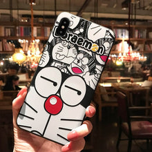 Load image into Gallery viewer, Doraemon  Cat Embossed Phone Case for iPhone