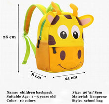 Load image into Gallery viewer, Brand New 3D Childrens Backpacks