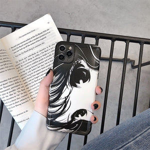 Cute Second Element Anime Eyes Case for iPhone