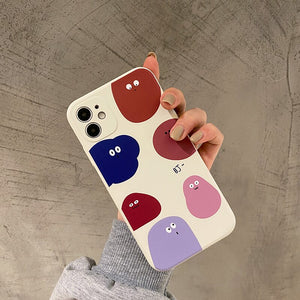 Super Cute Monster Blob iPhone Cases