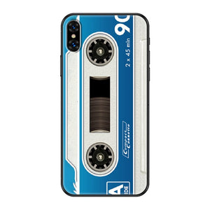 Retro Old Cassette Phone Case For iPhone