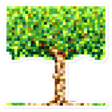 8-Bit Tree - Laptop Sticker - MJS.ART
