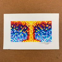 Atomic Burst Pixelation - Original - MJS.ART