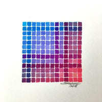 Blue-Purple-Red Spectradient - Original - MJS.ART