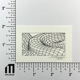 Mesh Wave Study #10 - Original - MJS.ART