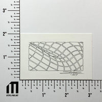 Mesh Wave Study #15 - Original - MJS.ART
