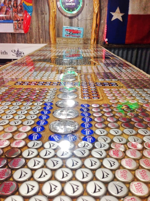Epoxy Bottlecap Bar