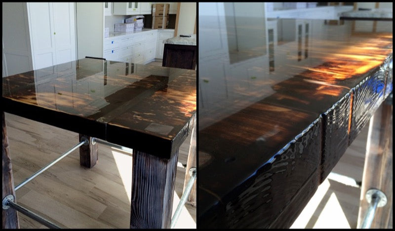 Clear Table Epoxy