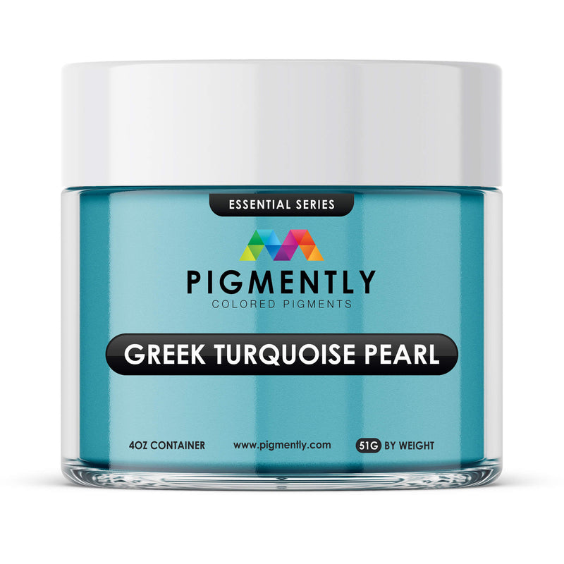 Greek Turquoise Pearl Epoxy Mica Powder