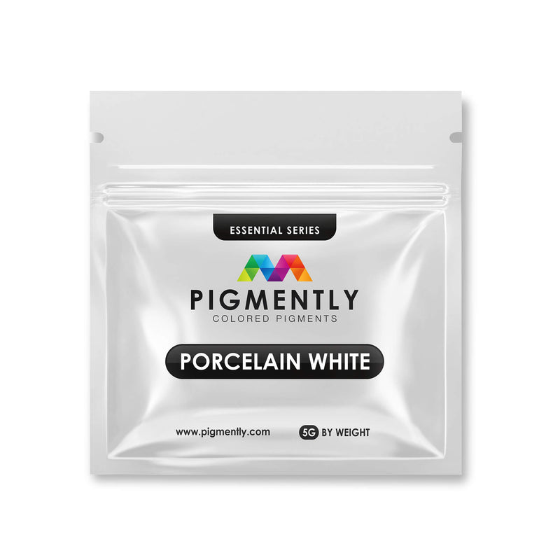 Porcelain White Mica Powder Epoxy
