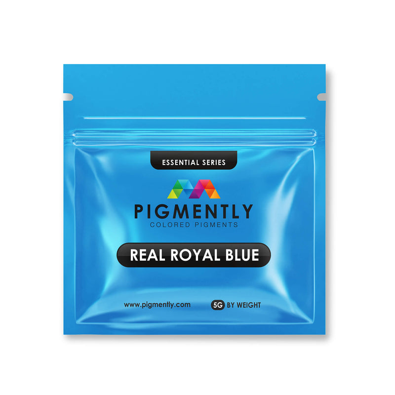 Real Royal Blue Mica Powder Epoxy