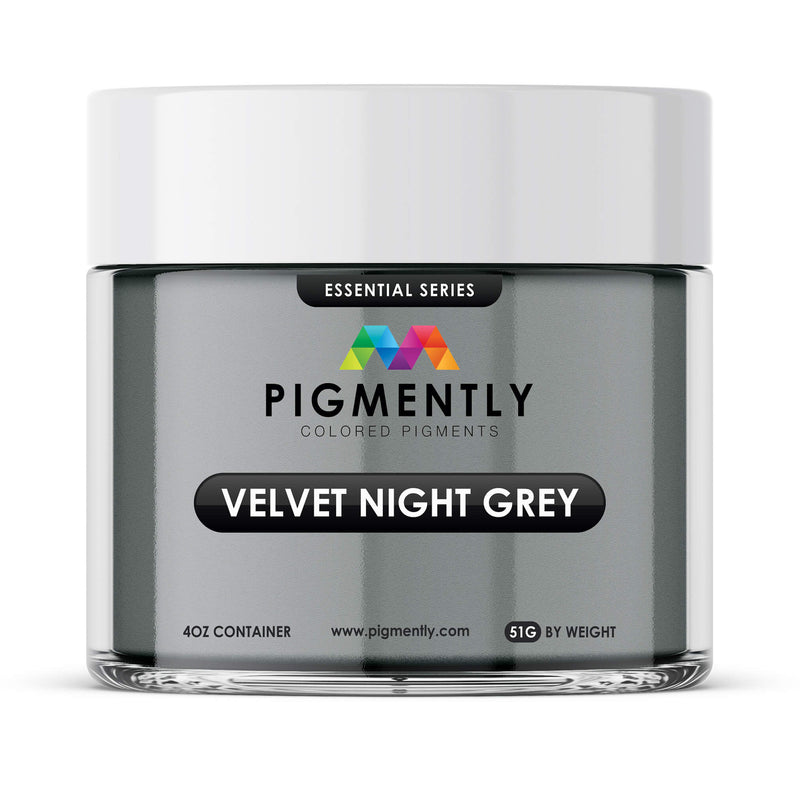 Velvet Night Grey Epoxy Mica Powder