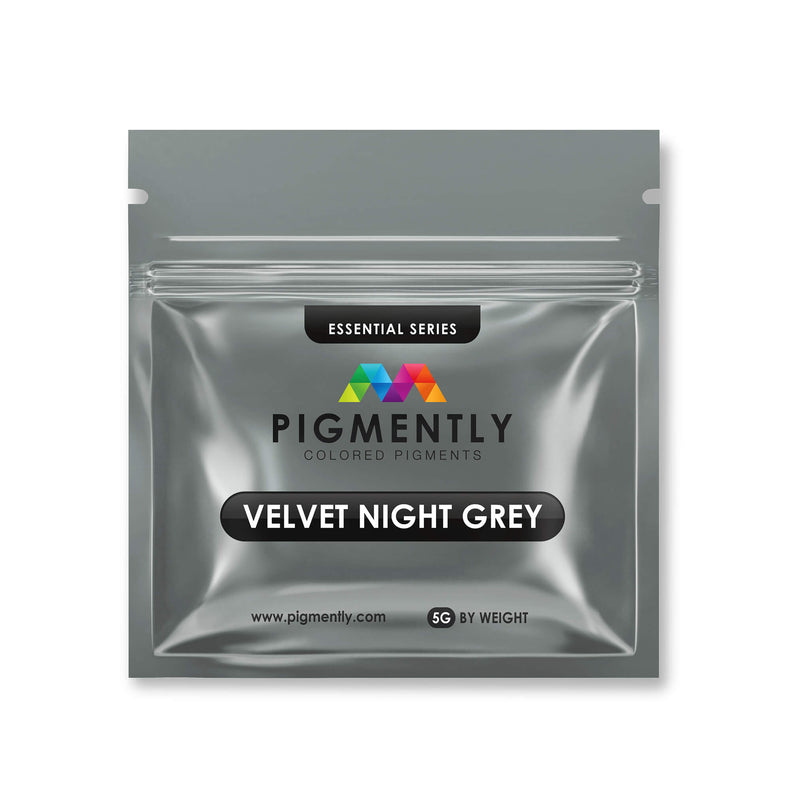 Velvet Night Grey Mica Powder Epoxy