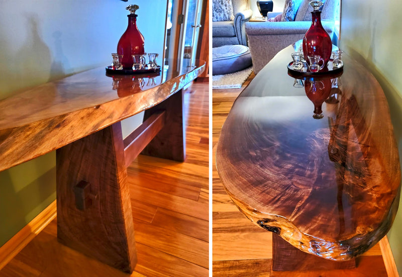 Epoxy Live Edge Table