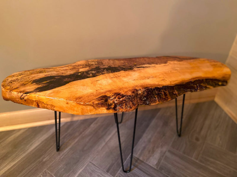 Live Edge Wood Table Epoxy