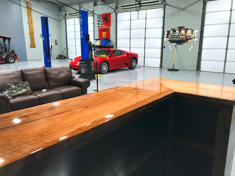 Wood Epoxy Bar Top