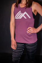 Load image into Gallery viewer, Elevate Fitness, EF Women's Origin Plum Muscle Tank Gym Apparel