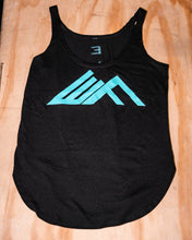 Load image into Gallery viewer, Elevate Fitness, EF Women's Origin Black Casual Tank Front Logo