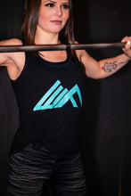 Load image into Gallery viewer, Elevate Fitness, EF Women's Origin Black Casual Tank Gym Apparel