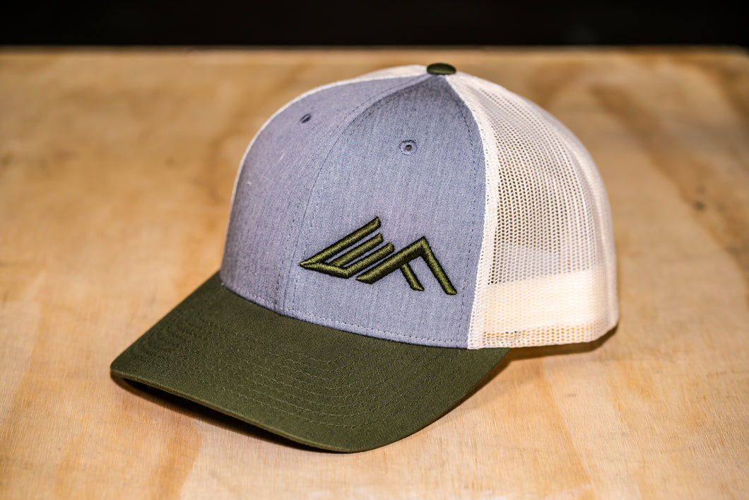 Elevate Fitness, EF Custom Hat Army