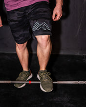 Load image into Gallery viewer, Elevate Fitness, EF Black Camo Shorts Gym Apparel