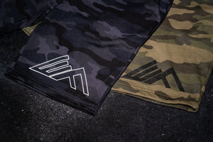 Elevate Fitness, EF Camo Shorts