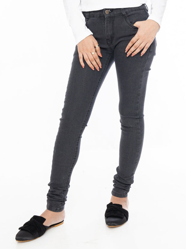 Denim Jeans - Dark Grey