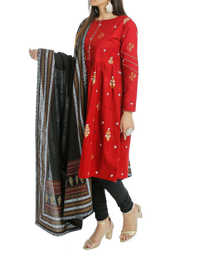 2 - Pc Shirt & Dupatta