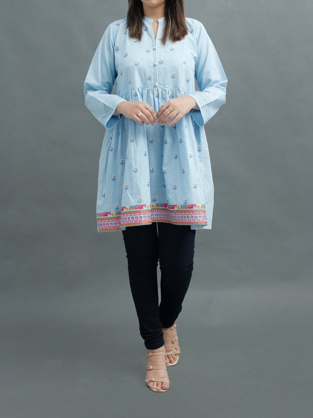 Slub Cotton Short Kurti